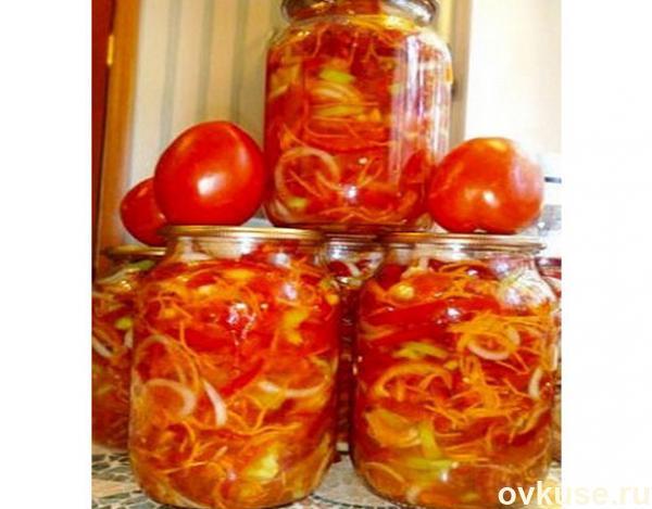 помидоры по-корейски салат