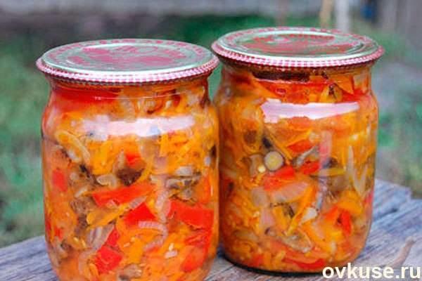 грибная солянка на зиму без капусты рецепт