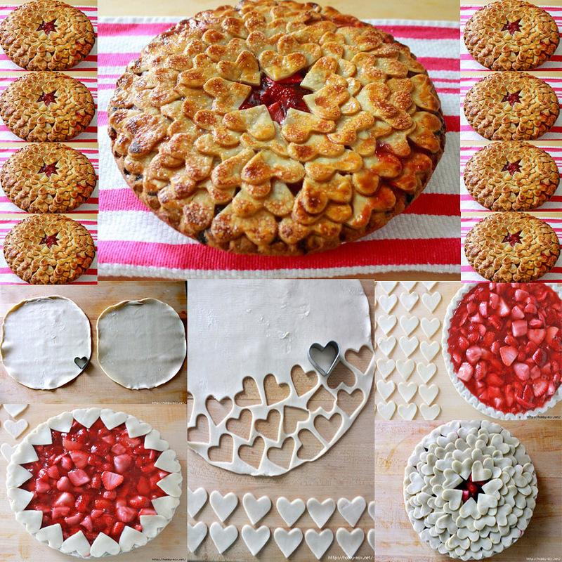Украшения для пирогов своими руками 396