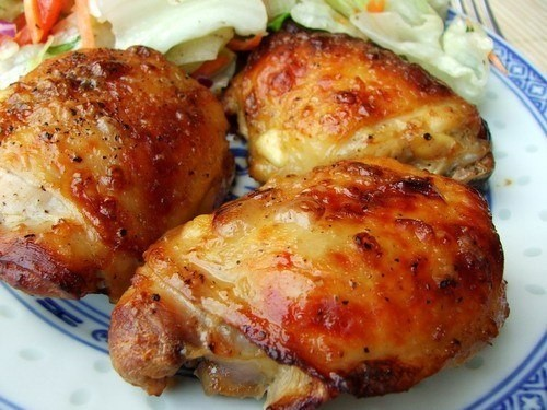 Рецепты из куриных бедрышек