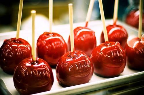 запеченное яблоко в карамеле рецепт