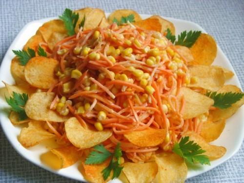 салат морковь по корейски рецепт с фото