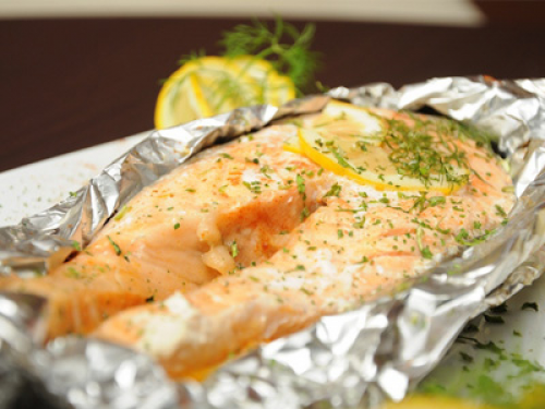 образом, рыба лосось в духовке рецепты с фото создают ненавязчивое