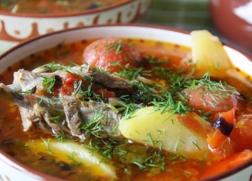 рецепт приготовление супа шурпа