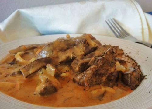 рецепт печени говяжьей с томат пастой