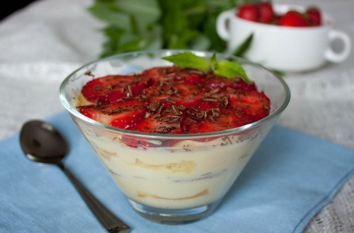 десерт с сыром маскарпоне рецепт